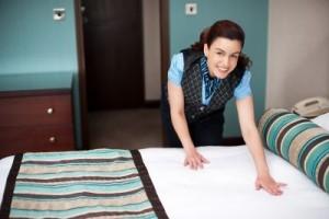Hotelové služby Housekeeping